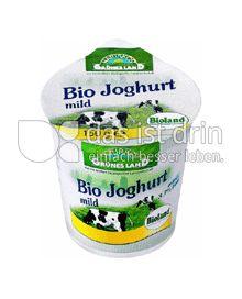 Produktabbildung: Grünes Land Bio Joghurt 3,7% 150 g
