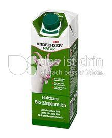 Produktabbildung: Andechser Natur Haltbare Bio-Ziegenmilch 3,3% 1 l