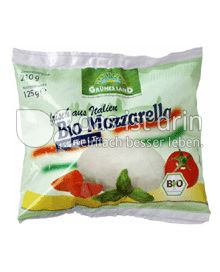 Produktabbildung: Grünes Land Bio Mozzarella 125 g