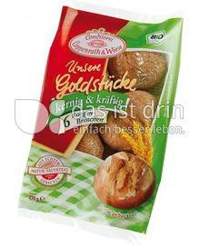 Produktabbildung: Conditorei Coppenrath & Wiese Unsere Goldstücke 6 Roggenbrötchen Bio 420 g