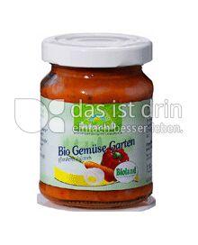Produktabbildung: Grünes Land Bio Aufstrich Gemüsegarten 125 g