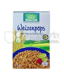 Produktabbildung: Grünes Land Bio Weizenpops 375 g