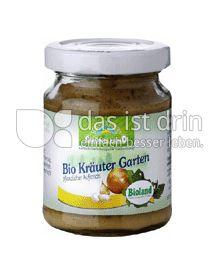 Produktabbildung: Grünes Land Bio Aufstrich Kräutergarten 125 g