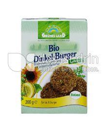 Produktabbildung: Grünes Land Bio Dinkelburger 200 g