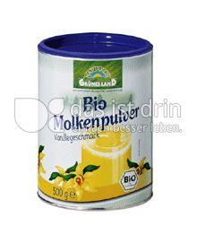 Produktabbildung: Grünes Land Bio Molkepulver Vanille 500 g