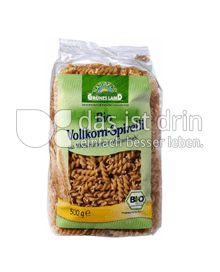 Produktabbildung: Grünes Land Bio Volkorn-Spirelli 500 g