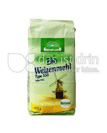 Produktabbildung: Grünes Land Bio Weizenmehl Typ 550 1000 g