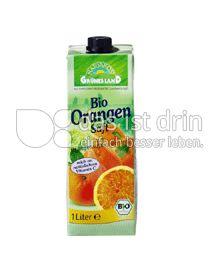 Produktabbildung: Grünes Land Bio Orangensaft 1 l