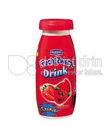 Produktabbildung: Danone Fruchtzwerge-Drink Erdbeere 100 ml