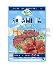 Produktabbildung: Nimm's leicht Wurstaufschnitt 125 g
