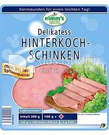 Produktabbildung: Nimm's leicht Delikatess - Hinterkochschinken 200 g