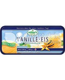 Produktabbildung: Nimm's leicht Vanille Eis 1 l
