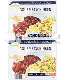 Produktabbildung: Nimm's leicht Gourmetschinken 150 g