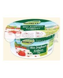 Produktabbildung: Bioness Bio Joghurt Erdbeere 150 g