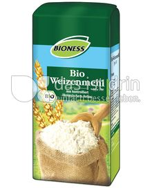 Produktabbildung: Bioness Bio Weizenmehl 1000 g