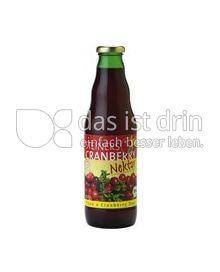 Produktabbildung: Steiners Bio Cranberry Nektar 0,75 l