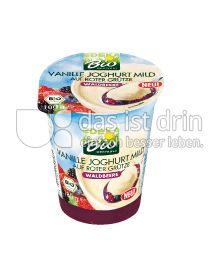 Produktabbildung: Bio Wertkost Bio Vanille Joghurt auf Roter Grütze Waldbeere 180 g