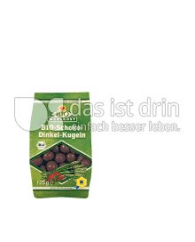 Produktabbildung: Bio Wertkost Schoko-Dinkel-Kugeln 125 g