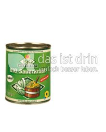 Produktabbildung: Bio Wertkost Sauerkraut 810 g