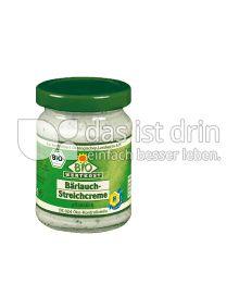 Produktabbildung: Bio Wertkost Bärlauch-Streichcreme 125 g