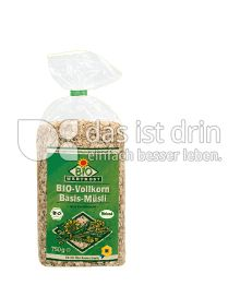 Produktabbildung: Bio Wertkost Vollkorn-Basis-Müsli 750 g