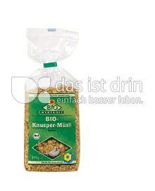 Produktabbildung: Bio Wertkost Knusper Müsli 375 g