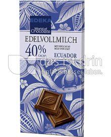 Produktabbildung: Edeka Edelvollmilchschokolade 40 % Cacao 100 g