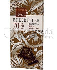 Produktabbildung: Edeka Edelbitterschokolade 70% Cacao 100 g