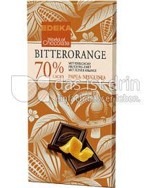 Produktabbildung: Edeka Bitterorangenschokolade 70 % Cacao 100 g