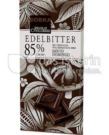 Produktabbildung: Edeka Edelbitterschokolade 85% Cacao 100 g