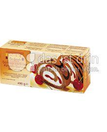 Produktabbildung: Edeka Backstube Schwarzwälder-Kirsch-Sahne-Bisquit-Rolle 400 g