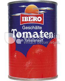 Produktabbildung: Ibero Geschälte Tomaten in Tomatensaft 425 ml