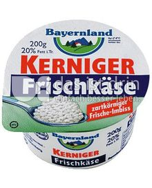 Produktabbildung: Bayernland Kerniger Frischkäse 200 g