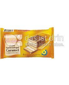 Produktabbildung: Edeka Backstube Kuchenriegel Caramel 152 g