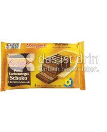 Produktabbildung: Edeka Backstube Kuchenriegel Schoko 152 g