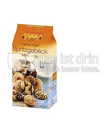Produktabbildung: Edeka Backstube Hamburger Spritzgebäck Mischung 400 g