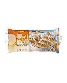 Produktabbildung: Edeka Backstube Milch-Vanille-Creme Waffeln 200 g