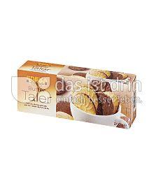 Produktabbildung: Edeka Backstube Buttertaler mit Vollmilchschokolade 250 g