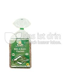 Produktabbildung: Bio Wertkost 4-Korn Flocken 500 g