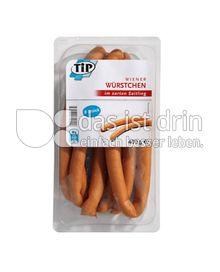 Produktabbildung: TiP Wiener Würstchen 400 g