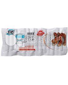 Produktabbildung: TiP Original Nürnberger Rostbratwürstchen 300 g