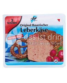 Produktabbildung: TiP Orig. bayrischer Leberkäse grob 400 g