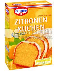 Produktabbildung: Dr. Oetker Zitronen Kuchen 485 g