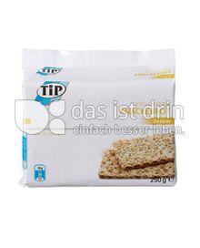Produktabbildung: TiP Vollkorn Knäckebrot Sesam 250 g