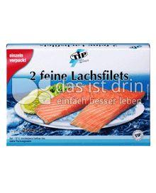 Produktabbildung: TiP 2 feine Lachsfilets