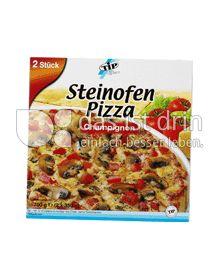Produktabbildung: TiP Steinofen Pizza Champignons 2 Stück