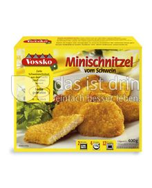 Produktabbildung: Vossko Minischnitzel 400 g