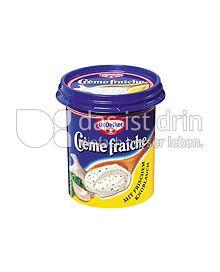 Produktabbildung: Dr. Oetker Crème fraîche mit frischem Knoblauch