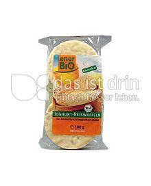 Produktabbildung: enerBiO Joghurt-Reiswaffeln 100 g