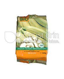 Produktabbildung: enerBiO Joghurt-Schoko-Bananenchips 100 g